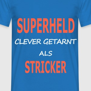 stricker_superheld T-Shirts - Männer T-Shirt