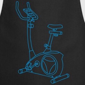 Hometrainer Exercise bike   Aprons - Cooking Apron