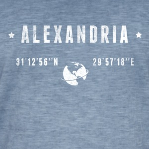 Alexandria Tee shirts - T-shirt vintage Homme