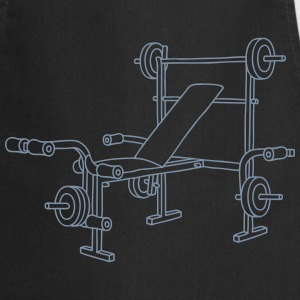 Weight bench bodybuilding  Aprons - Cooking Apron