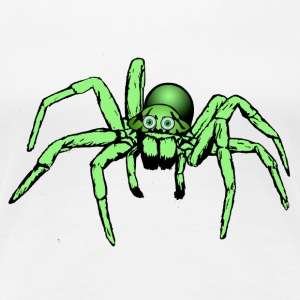 green spider T-Shirts - Women's Premium T-Shirt