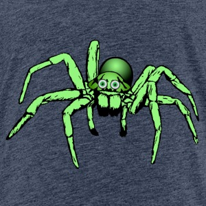 green spider Shirts - Teenage Premium T-Shirt