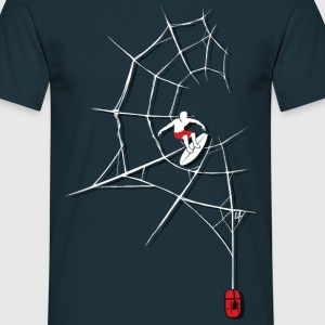 Surf the Web T-Shirts - Men's T-Shirt
