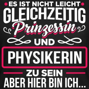 Physikerin - Prinzessin - Frauen T-Shirt