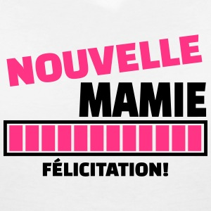nouvelle mamie  Tee shirts - T-shirt col V Femme