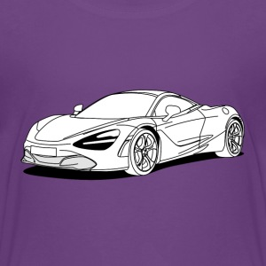 720s Coupe White Shirts - Kids' Premium T-Shirt