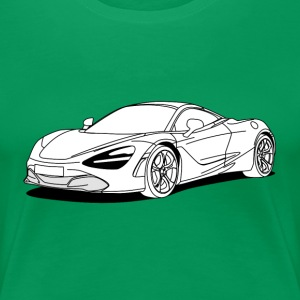 720s Coupe White Tee shirts - T-shirt Premium Femme