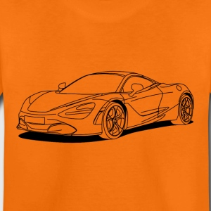 720s outline T-shirts - Børne premium T-shirt