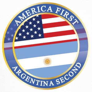 AMERICA FIRST ARGENTINA SECOND Caps & Mützen - Trucker Cap