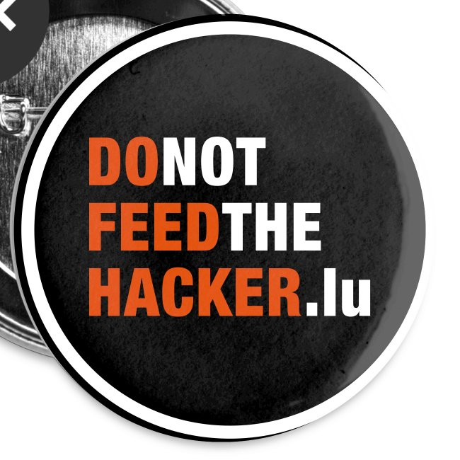 Do not feed the Hacker! (Black L)