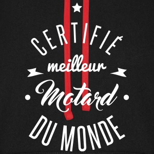 meilleur motard du monde Sweat-shirts - Sweat-shirt baseball unisexe