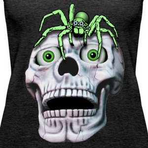 Skull and Spider Tops - Women's Premium Tank Top