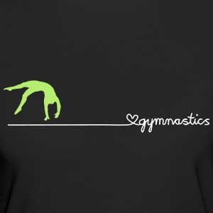 love gymnastics T-Shirts - Frauen Bio-T-Shirt