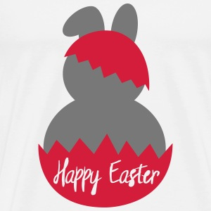 happy easter T-Shirts - Männer Premium T-Shirt