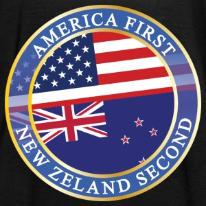 AMERICA FIRST NEW ZELAND SECOND Tops - Frauen Tank Top von Bella