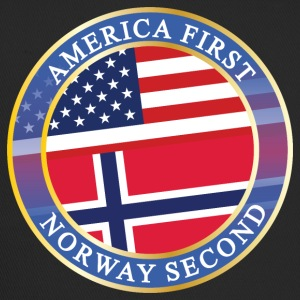 AMERICA FIRST NORWAY SECOND Caps & Mützen - Trucker Cap