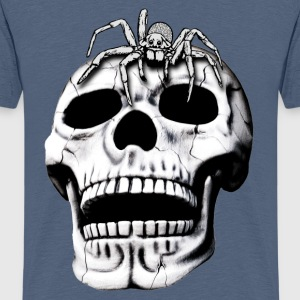 Skull and Spider Shirts - Teenage Premium T-Shirt