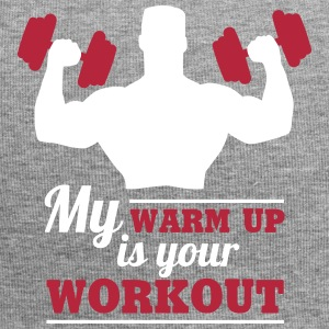 My warum up is your Workout Caps & Mützen - Jersey-Beanie