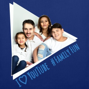 Family Fun Foto Miley Cirhan Robert Aynur - Stoffbeutel