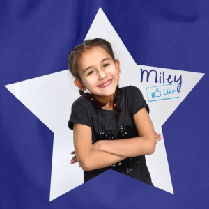 Mileys World Miley Foto Stern - Turnbeutel