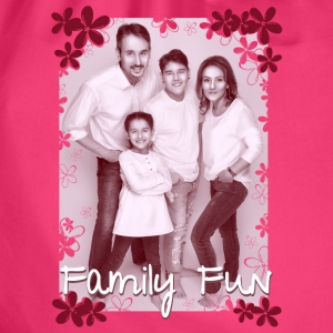 Family Fun Foto Miley Cirhan Robert Aynur - Turnbeutel