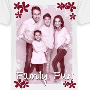 Family Fun Foto Miley Cirhan Robert Aynur - Kinder Premium T-Shirt