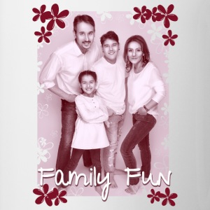 Family Fun Foto Miley Cirhan Robert Aynur - Tasse