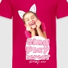 Mileys World Sing Play Repeat Spruch - Kinder Premium T-Shirt
