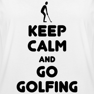 Keep calm Go Golfing T-Shirts - Frauen Oversize T-Shirt