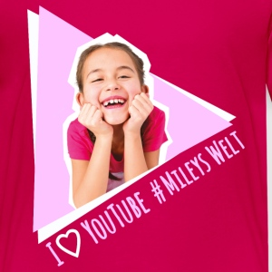 Mileys World Miley Lacht #MileysWelt - Teenager Premium T-Shirt