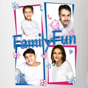 Family Fun Miley Cihan Robert Aynur Namen - Tasse