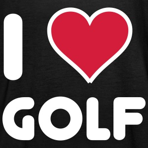 I love Golf Tops - Frauen Tank Top von Bella