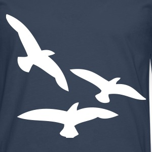 Birds long sleeve shirts - Men's Premium Longsleeve Shirt