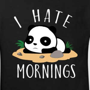 I hate mornings Panda T-Shirts - Kinder Bio-T-Shirt