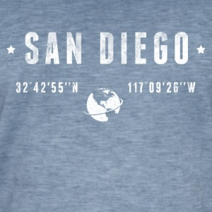 San Diego Tee shirts - T-shirt vintage Homme