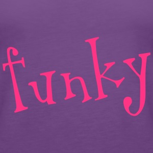funky Tops - Frauen Premium Tank Top