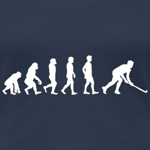 Floorball evolution T-Shirts - Dame premium T-shirt