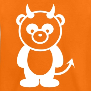 Panda bear Devil T-Shirts - Teenage Premium T-Shirt