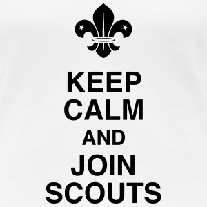 scout / scouting / spejder / guide T-shirts - Dame premium T-shirt