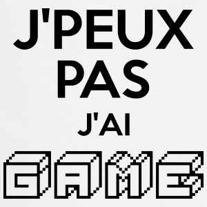 J'AI GAME Tabliers - Tablier de cuisine