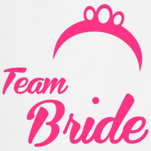 Team Bride Crown - Kochschürze