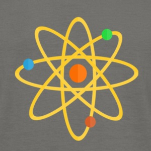 The Atom - Männer T-Shirt