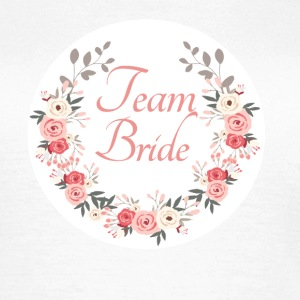 team_bride_rose_wreath T-Shirts - Frauen T-Shirt