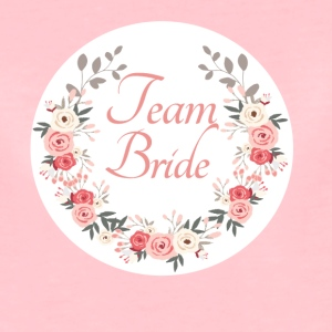 team_bride_rose_wreath T-Shirts - Frauen Premium T-Shirt
