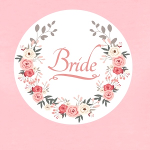 bride_rose_wreath T-shirts - Vrouwen Premium T-shirt