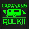 Caravans Rock - Men's T-Shirt