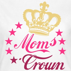 Moms Crown Star Stars T-Shirts - Frauen T-Shirt