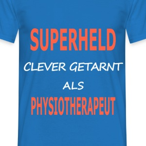 physiotherapeut_superheld T-Shirts - Männer T-Shirt
