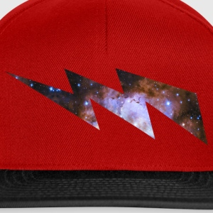 Blitz Sternenbild Flash Lightning Space Invasion Caps & Mützen - Snapback Cap