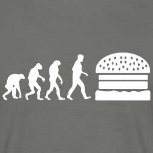 burger evolution T-Shirts - Männer T-Shirt